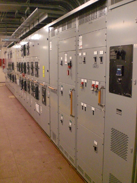 IPS switchboard power sections